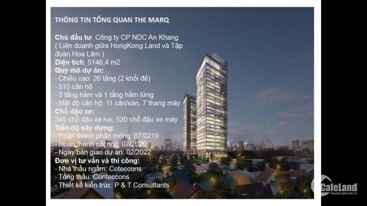 THE MARQ - luxury aparment - căn hộ hạng sang đẳng cấp, giá tốt ngay tại trung tâm Sài Gòn