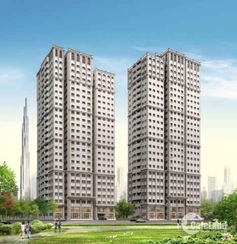 Sở hữu căn hộ theo kiến trúc Pháp chỉ với 3 tỷ