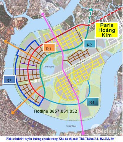 Cập nhật thông tin tháng 4 - Căn hộ Paris Hoàng Kim Quận 2 - PTTT 1,5%/tháng 0857.031.032