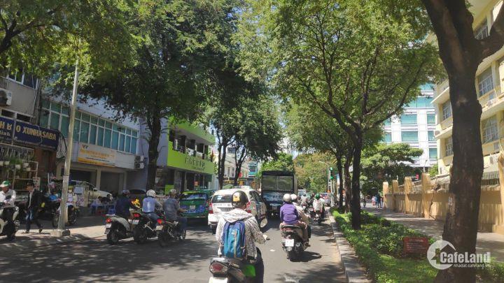 Bán nhà mặt tiền Trương Định Quận 3 DT:8x16m 4 Lầu (HĐ 130 triệu/th).Giá 55 tỷ