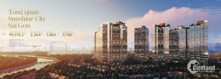 Dự án Sunshine City Sài Gòn căn hộ công nghệ 4.0, ngay TT Quận 7