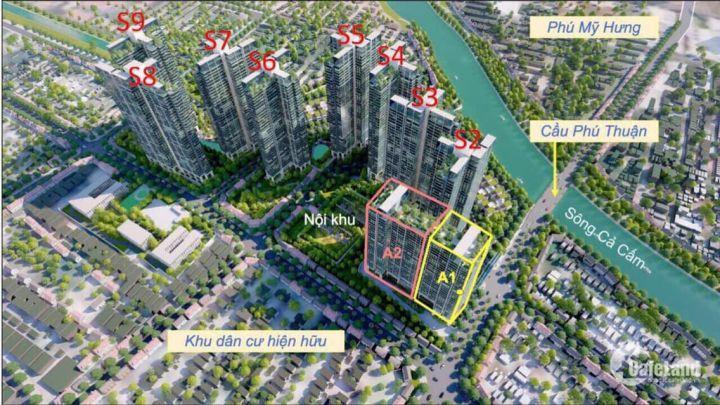 Sang nhượng căn Officetel tòa S1 Block A1 thuộc dự án Sunshine City Sài Gòn Q7