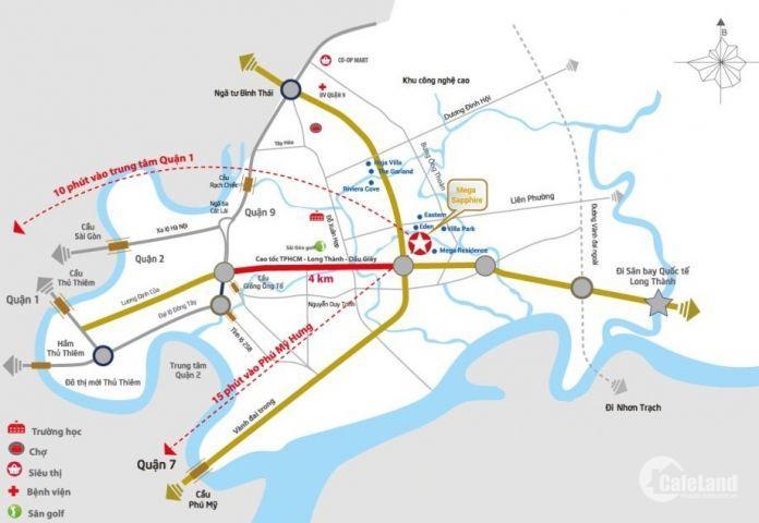 Sang nhượng căn hộ cao cấp Safira Khang Điền, Q9, 1+1 PN giá tốt nhất 1,530 tỷ VAT