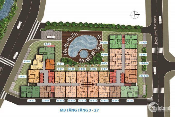 Carillon 7-Tân Phú - 1PN/1,65 tỷ, 2PN 70m2/2,15 tỷ, 3PN 85m2/ 2,45 tỷ, MP 2 năm PQL 0932424238