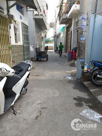 Chính chủ bán gấp nhà 1 Sẹc,2 mặt tiền,1TR 1Lầu,Hẻm rộng 4m giá cực rẻ Khu Bình Triệu-PVĐ