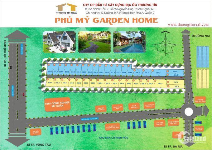 1,8tr/m2, đất siêu dự án ngay trung tâm thị xã Phú Mỹ BR - VT