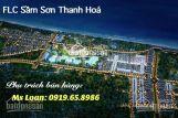 Đất liền kề FLC Sầm Sơn Thanh Hóa, giá chỉ 14tr/m2 LH 0919658986