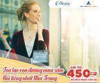 Chỉ với 450 triệu Sở hữu căn hộ cao cấp giữa TP biển Nha Trang-Cơ hội có một không hai