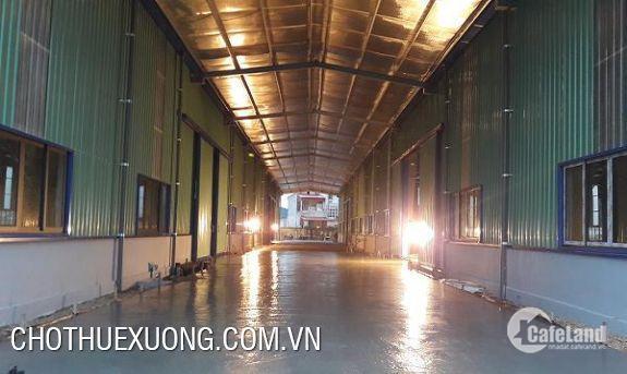 Cho thuê xưởng đẹp tại Quán Gỏi Bình Giang Hải Dương DT 1820m2 giá tốt