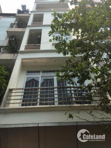Cho thuê nhà Ngô Thì Nhậm,5 tầng, MT 4m
