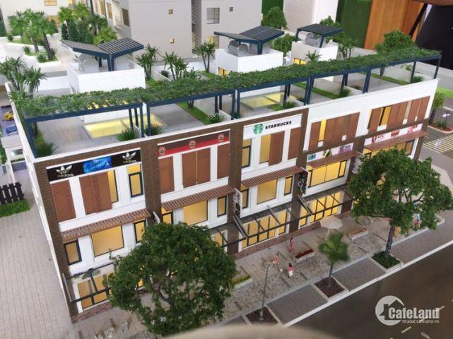 Cho thuê Shophouse đẹp nhất khu Mizuki 40tr/th,bao phí 2 năm.0907697849