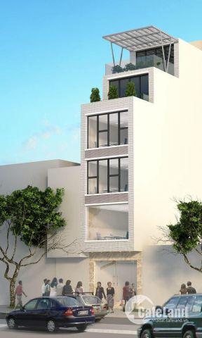 Cho thuê nhà 5 tầng quận Long Biên Hà Nội, mặt tiền Nguyễn Văn Cừ 4.5x31m2