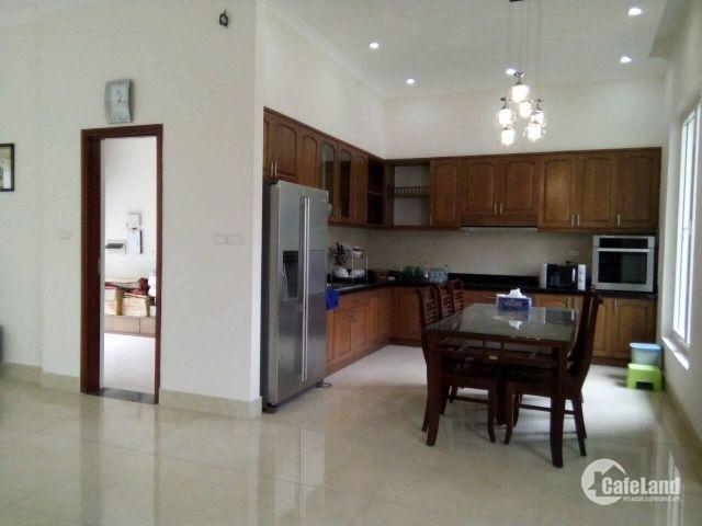 Cho thuê biệt thự VINHOMES Việt Hưng, Long Biên, đầy đủ nội thất, 300m2, giá 45tr/1 tháng.