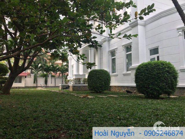 Villa Thảo Điền diện tích lớn,phù hợp làm văn phòng,trường học,giá 105tr/th.LH 0909246874.