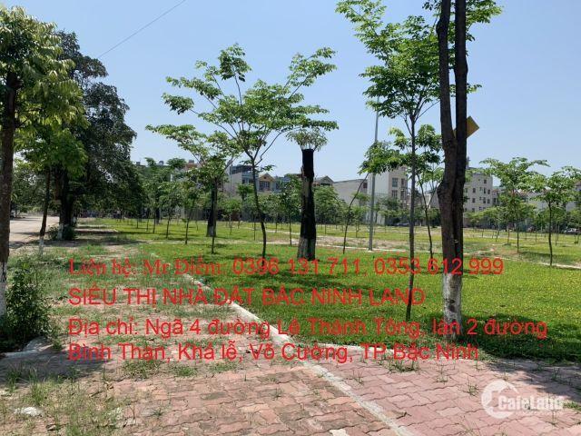 Chính chủ cần bán lô góc dân cư dịch vụ tại Khả Lễ, Võ Cường, TP.Bắc Ninh