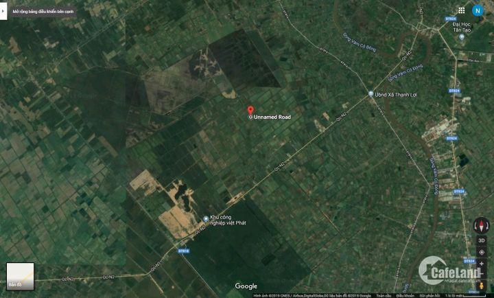 Chính chủ cần bán lô đất Long An, thích hợp đầu tư sinh lợi lâu dài