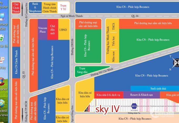 Sky center city 4, tiềm nang vàng cho nhà đầu tư