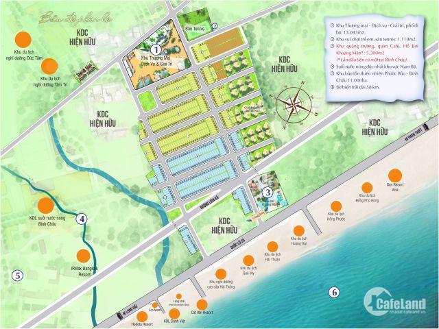 Những nền cuối cùng của Seaway Bình Châu, vị trí đẹp, giá CĐT chỉ từ 620 triệu/nền. 0912322429