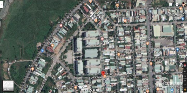 Bán đất đường Nguyễn Khả Trạc đối diện chung cư mát mẻ từ sáng tới chiều, giá không thể lỗ hơn