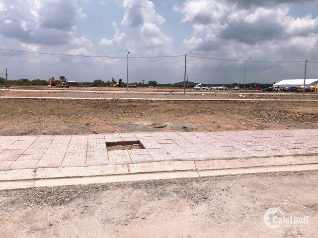 560 triệu 100m2 sổ hồng riêng đất mặt tiền quốc lộ 22, hóc môn