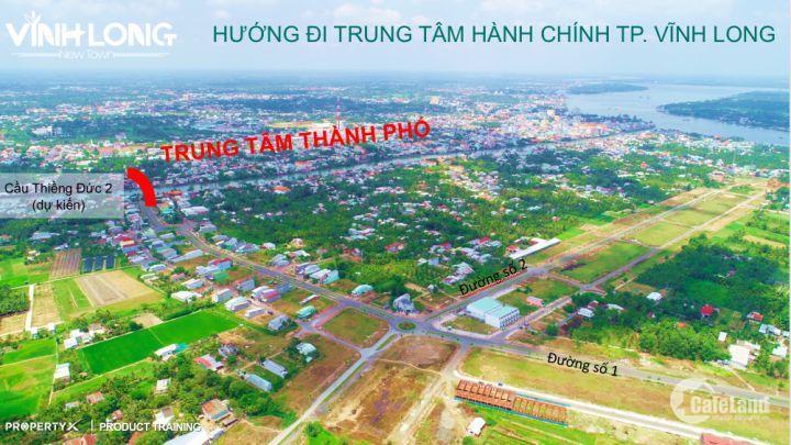 Bán lô đất nền sỏ đỏ trung tâm hành chính TP. Vĩnh Long