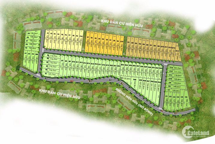 Chỉ từ 650tr sở hữu ngay lô đất gần sân bay Long Thành, sổ riêng, số lượng có hạn