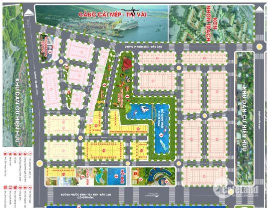 Đất nền giá rẻ gần sân bay Long Thành - 80m2