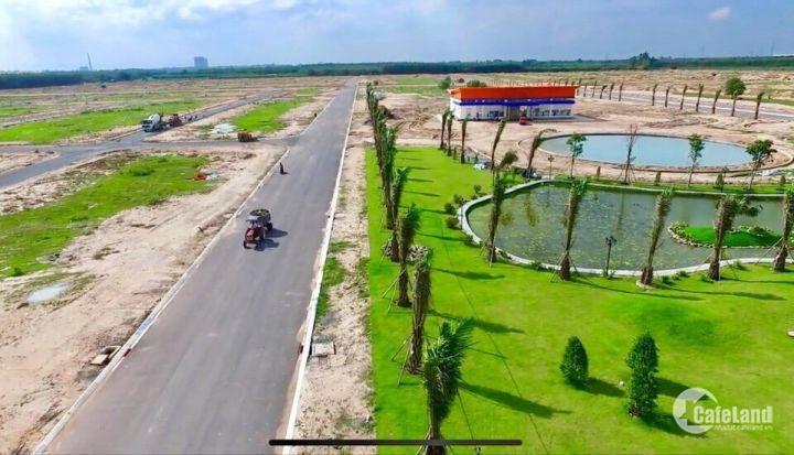 Đất thổ cư ngay trung tâm Nhơn Trạch, mặt đường 25C,đón đầu cầu Cát Lái