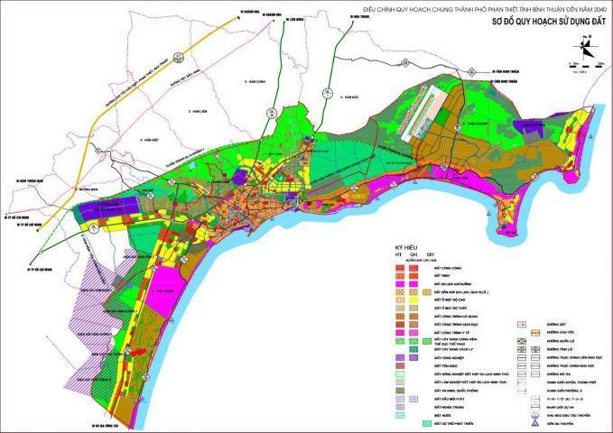 Bán đất liền kề sân bay Phan Thiết, 1000 m2/nền, giá gốc chủ đầu tư