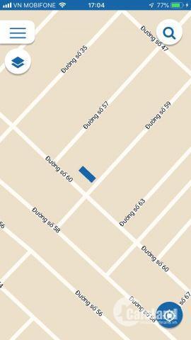 Chính chủ bán gấp lô đất KDC Cát Lái, Q2. Sổ hồng riêng, DT 140m2, giá 45tr/m2, LH:0981.633.644