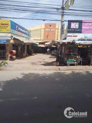 Cần bán lô đất ngay chợ Rạch Kiến,144m2
