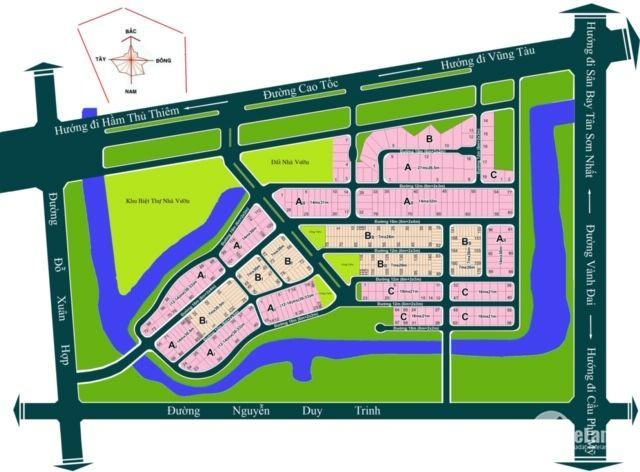 Kho đất nền giá rẻ tại dự án ĐH Bách Khoa Phường Phú Hữu Q9