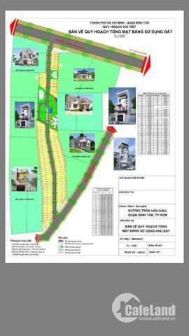 Đất nền dự án Trần Văn giàu Q. Bình Tân. Tìm nhà đầu tư Góp Vốn