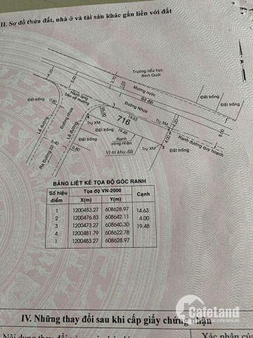 Đất Thủ Đức 2 mặt tiền nội bộ khu dân cư Linh Đông