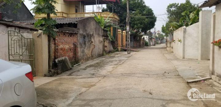 Bán lô đất 182m2 Thôn Phú Thọ, Đông Xuân, Sóc Sơn, thổ cư 100%, SĐCC