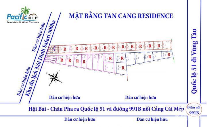 Bán đất Tân Hoà, Tân Thành, Bà Rịa-Vũng Tàu, 2,5 triệu/m2. Gọi 0912322429