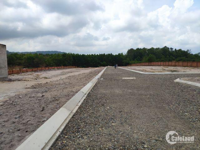 Bán đất Tân Hòa – Tân Thành, Bà Rịa – Vũng Tàu, đường vô núi Dinh. Giá từ 2.5 triệu/m2, LH: 0912322429