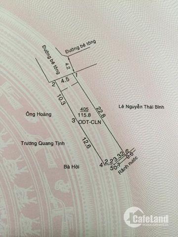 Cần Bán đất Định Hòa Hẻm QL13, đi vào 15m, đường hẻm lớn thông