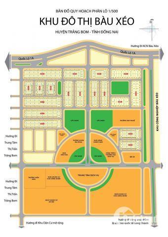 Bán đất KDC Bàu Xéo, cơ hội đầu tư sinh lời nhanh, giá chỉ 280tr