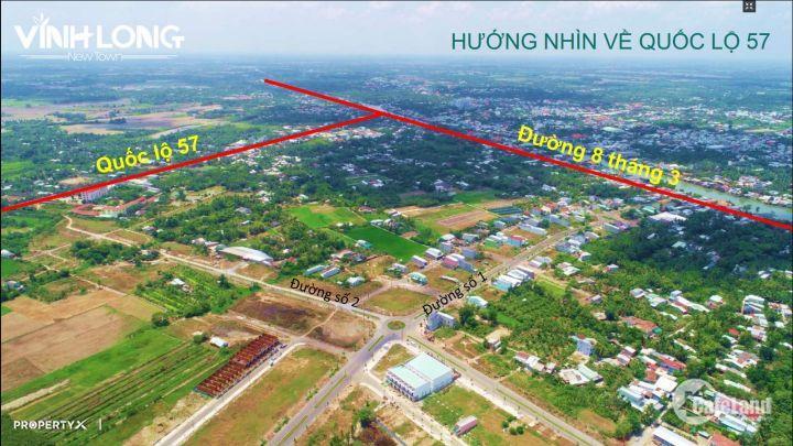 Chính thức: Mở bán giai đoạn 1 dự án đất nền nhà phố, biệt thự TP Vĩnh Long - LH: 079 7772 179