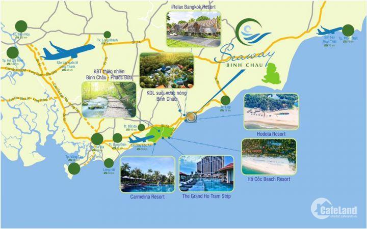 đất nền dự án Bình Châu Vũng Tàu - còn duy nhất 3 nền hướng ĐB giá 620 triệu - LH: DUY 0365104626