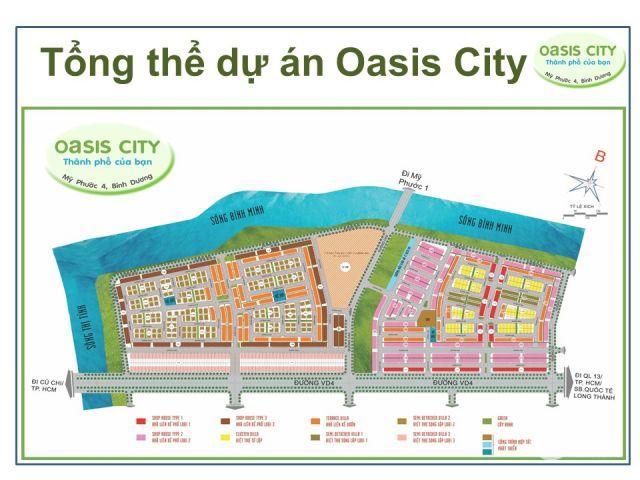 Sở hữu ngay căn nhà phố Oasis City 1,6 tỷ, cho thuê 600USD/Thang