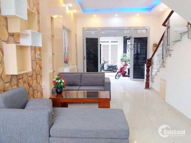 Bán gấp nhà 2 mặt hẻm 8m, Phạm Văn Đồng, bình Thạnh, 4 lầu giá 6,3 tỷ