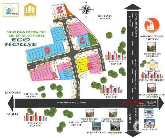 Bán nhà phố - ECO HOUSE– LONG AN -  chính chủ - sổ riêng.