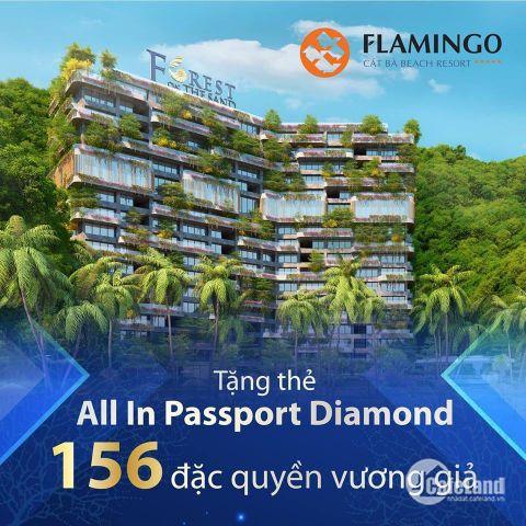 Suất ngoại giao biệt thự trên cao Flamingo Cát Bà với tổng chiết khấu 35%, Liên hệ: 0964358988