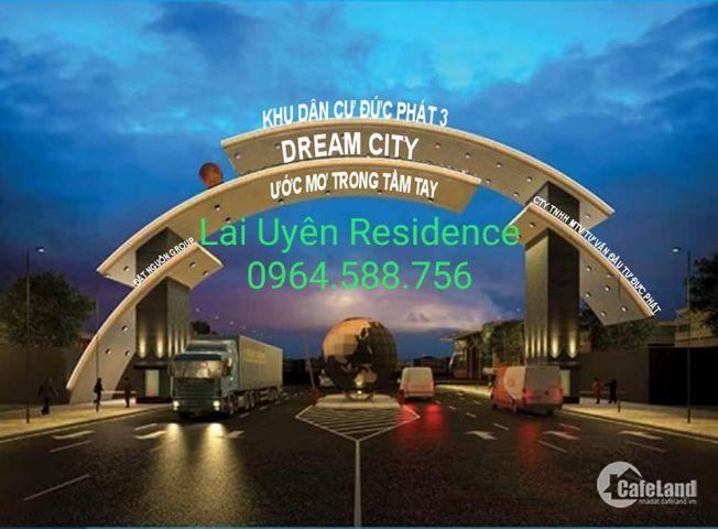 Đất nền Lai Uyên RESIDENCE .dất ơ đất đầu tư thổ cư binh dươngLH 0964588756