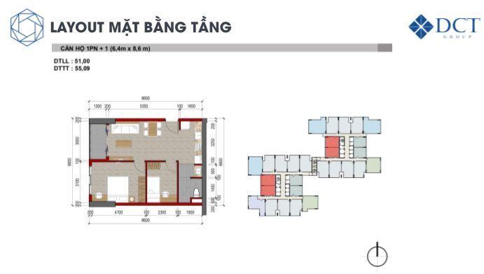 Bán căn hộ cao cấp ngay TTTM VINCOM Dĩ An Bình Dương