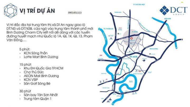 Căn Hộ Cao Cấp Dĩ An liền kề VINCOM, giá từ 1tỷ, Dt 48_95m2, 1-3Pn, ngay TTHC Dĩ An BD