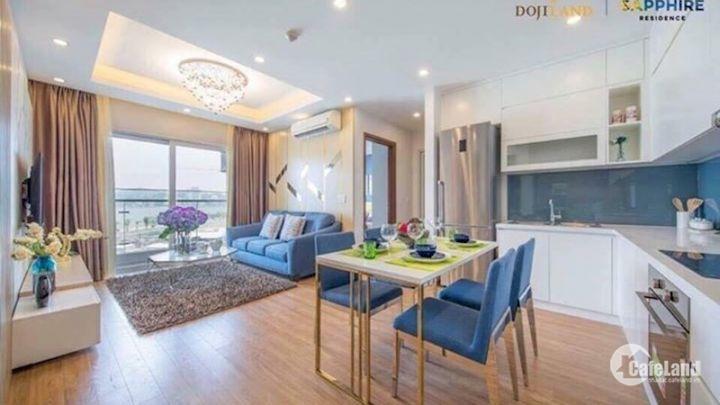 Bán lại căn hộ Doji Bến Đoan, sổ đỏ chính chủ, đủ nội thất, căn góc, view vịnh