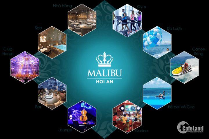 Căn hộ nghỉ dưỡng T5, 5 sao Malibu hội an, dt 50m2, giá 2,385 tỷ, thanh toán nhiều đợt